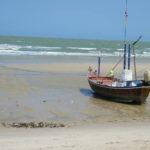 Strand noord Cha am