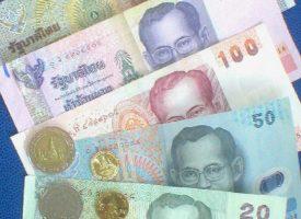 De valuta in Thailand is Baht