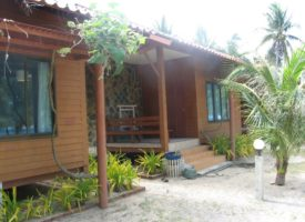Resort in Ban Krut: Nanachart Bungalow Seaview