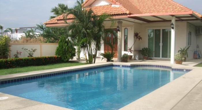 huisjes met zwembad