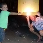 Loy Kratong in Cha-am, Thailand
