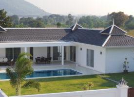 Splinternieuwe villa's in Huahin