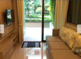 Lumpini Cha-am apartment for rent on the ground floor