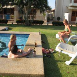 Geniet in uw zwembad in Januari