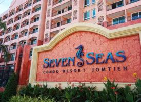 Seven Seas appartement Jomtien