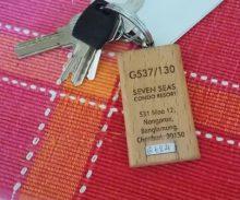 sleutels van Seven Seas Condo Jomtien