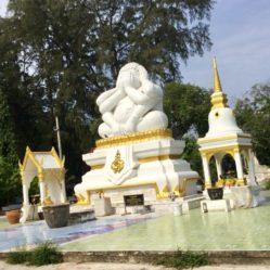 Cha-am Buddha Beach Statue