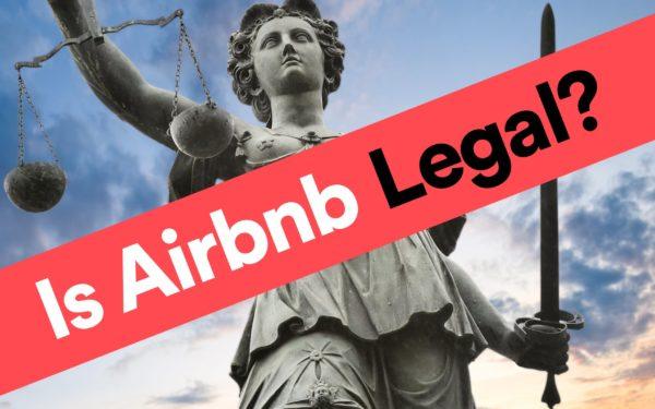 airbnb niet legaal