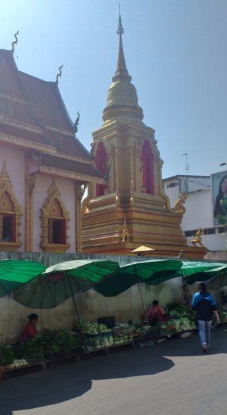 Markt straat Chaingrai