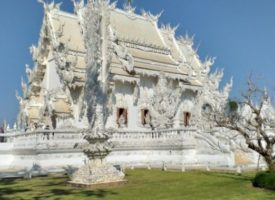 De mooiste is de Witte Tempel – Wat Rong Kun