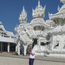 witte tempel foto
