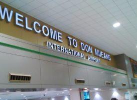 Don Muang vliegveld Bangkok