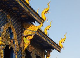 De blauwe tempel – Wat Rong Suea Ten – chiangrai