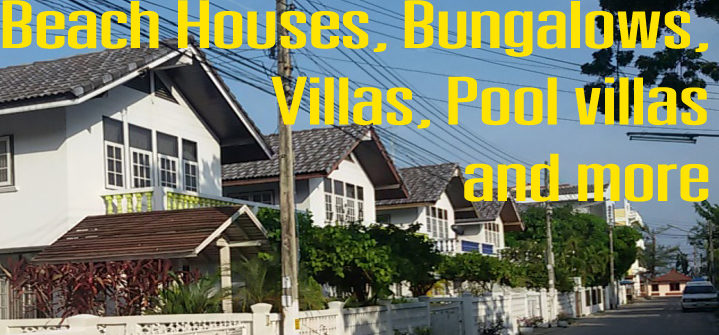 category holiday houses, villas and bungalows for rent in Thailand