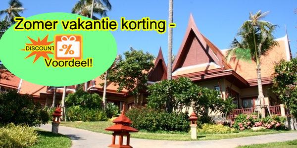zomervakantie korting op Koh Samui