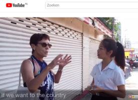 Toeristen over Hua hin en Thais eten – interviews