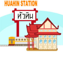 Hua hin Station train