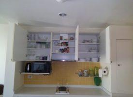 Mykonos appartement met veel keukenapparatuur