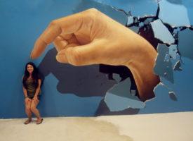 Te gekste selfies in 3D Art in Paradise Chiangmai
