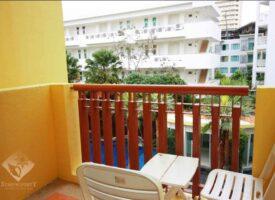 Prettig appartement Huahin met zicht op zwembad