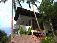 View of Holiday Villa on Koh Tao Island