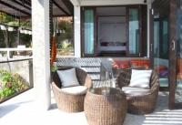 terrace at Holiday Villa on Koh Tao Island