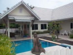 nice holiday houses with private pool Cha-am in Sams Garden