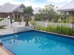 The pool at in Sams Garden villa