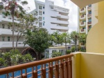Balkon met Pool View