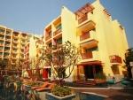 Het Mykonos appartementen gebouw in Hua hin