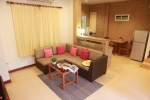 Superior villa Garden Home woonkamer