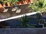 balkonzicht in Las Torutgas appartement