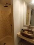 bathroom Chelona pool view appartment