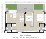 indeling van het appartement
