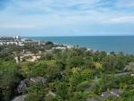 Het Palm Pavilion Apartment Hua Hin uitzicht