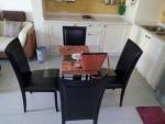 Keukentafel met stoelen